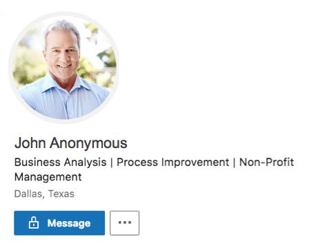 An example of a how to write a good LinkedIn Headline