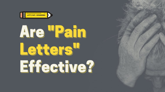 """Should You Write a """"Pain Letter"""" as Your Cover Letter?"""