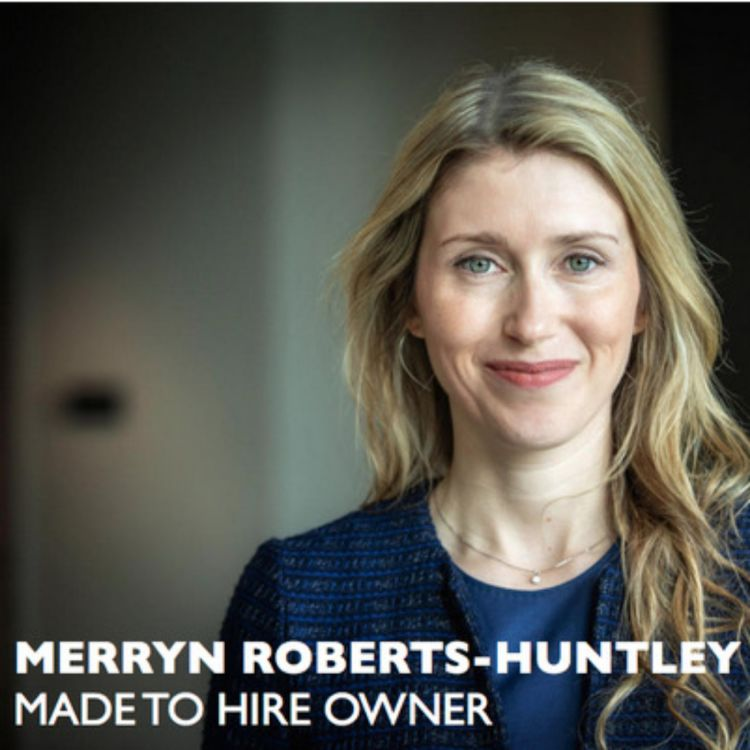 A headshot of career coach Merryn Roberts-Huntley of Made to Hire, the guest expert for the most downloaded Career Warrior Podcast episode of 2020.