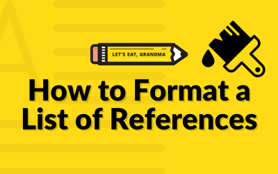 How to Format a  List of Professional References (Because They Don't Go in Your Resume!)