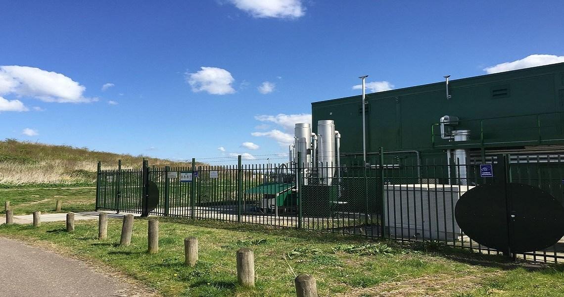 Letschade Schoteroog groengaswinning