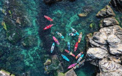 【長程巡航15K】龍洞至福隆SUP紀錄分享,玩家級的北海岸連連看
