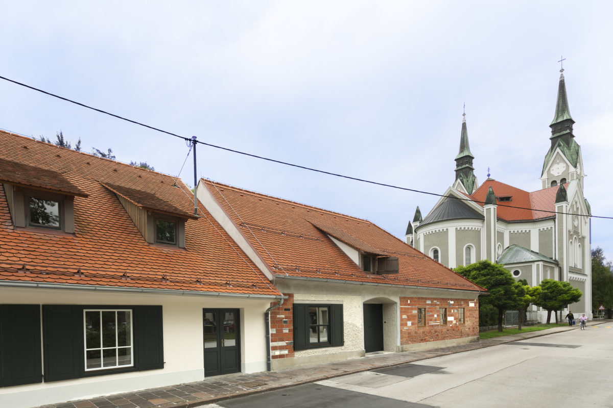 Visiting Plečnik's house in Ljubljana
