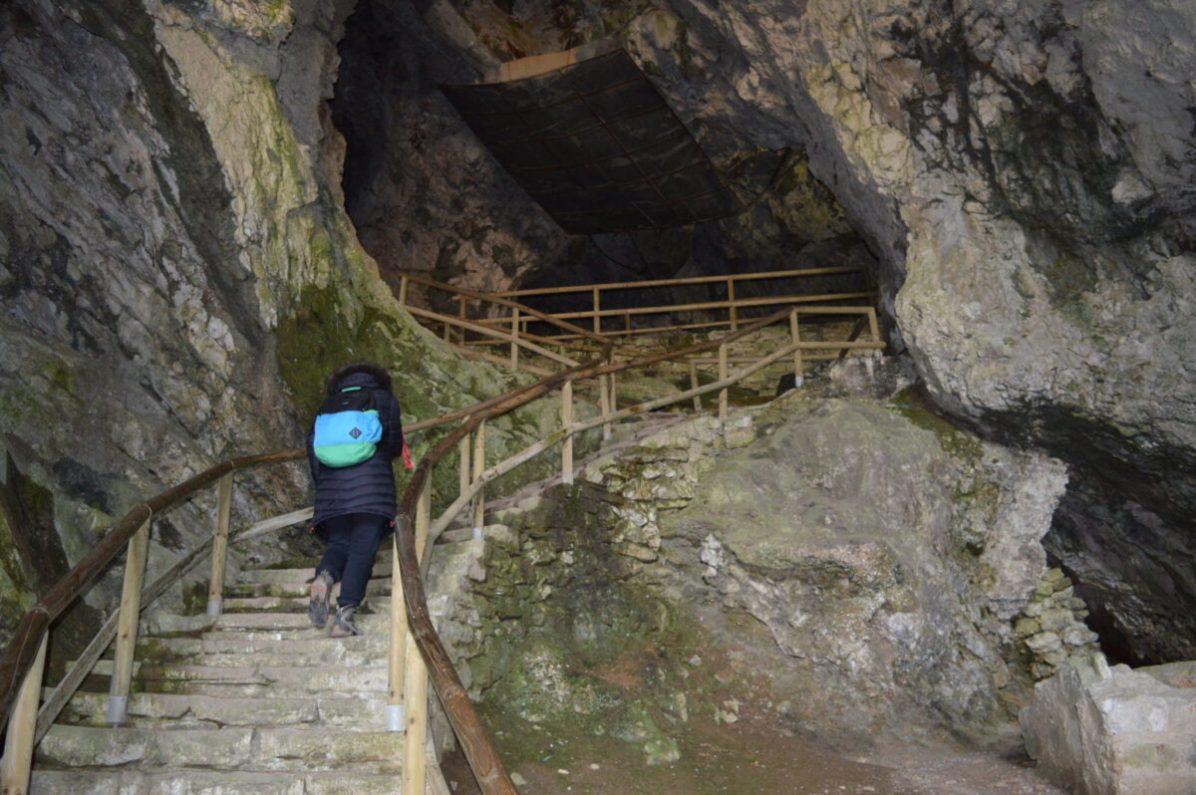 The cave part o the Predjama Castle.