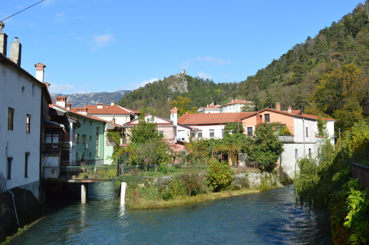 The Beautiful Slovenian Town of Vipava