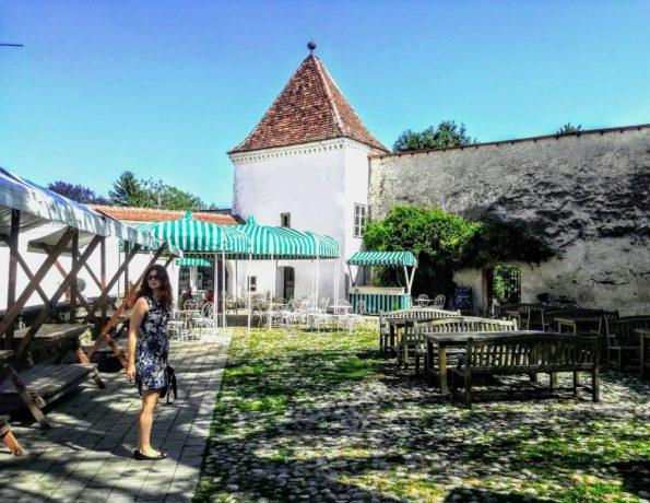 Potrkala sem na vrata gradu v Slovenski Bistrici, da bi prisluhnila ansamblu Concerto di Margherita.