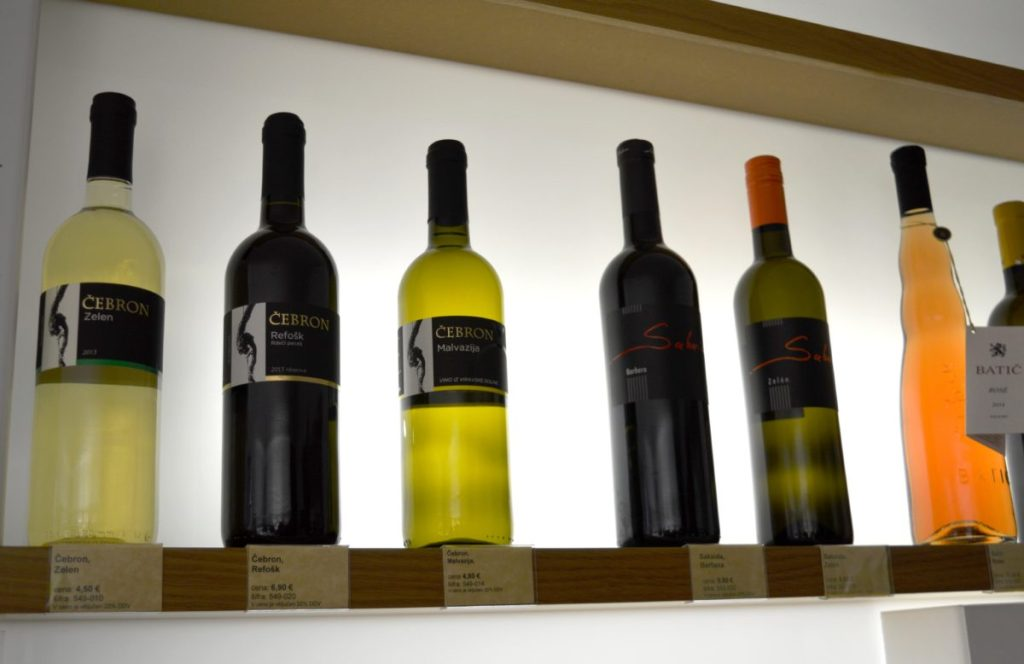 While in Vipava, try Zelen and Prepih wine ...