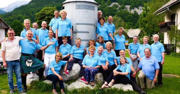 Guest post from David Burbidge of Lakeland Voice:Our Week Of Singing In Slovenia 2018