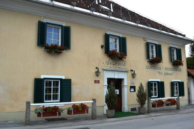 A great traditional Slovenian restaurant is the part of the complex!