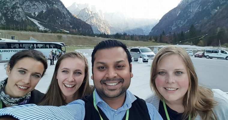 Syed Bashar, entrepreneur:  »Visiting Slovenia is something I definitely recommend to everyone!«