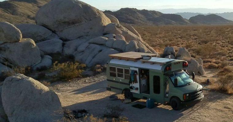 Buslife Months 3-7, A Southwestern Winter