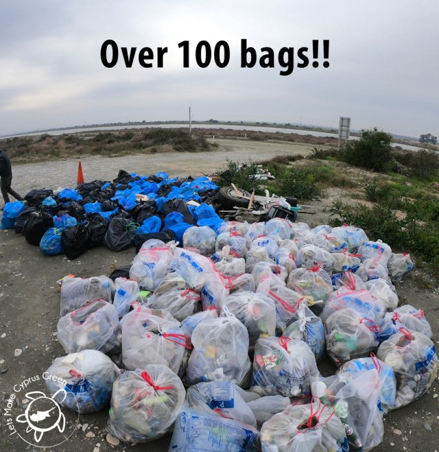 Over 100 bags-1