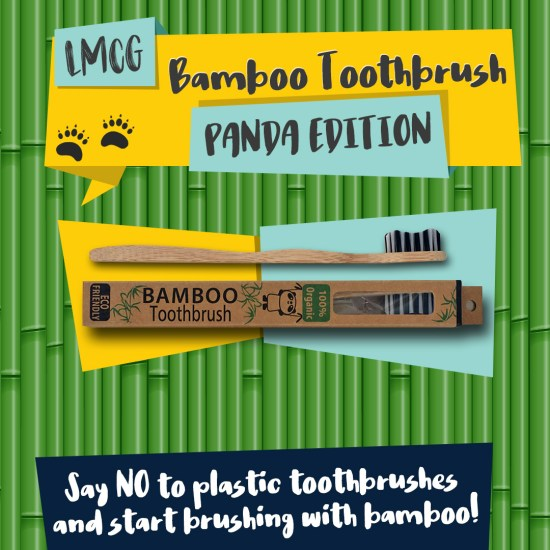 Bamboo Toothbrush: Panda Edition