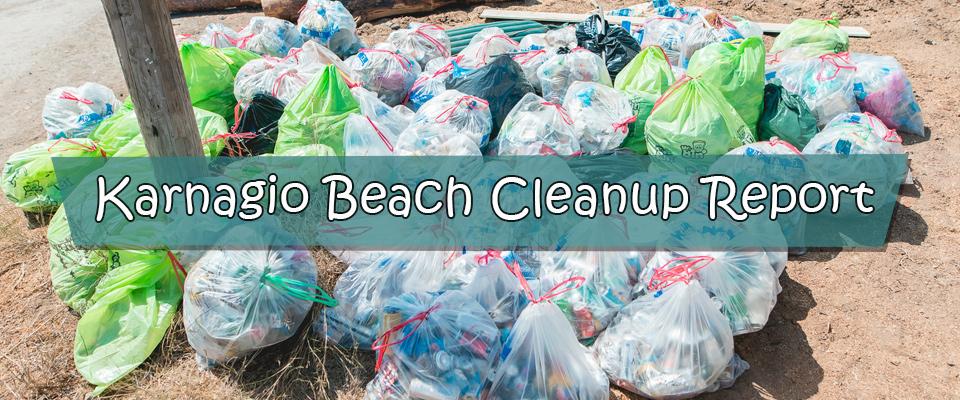 Karnagio Beach Clean-Up