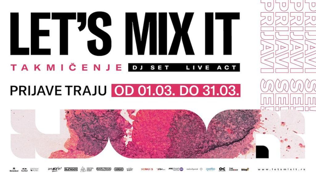 Drugo izdanje Let's mix it takmičenja