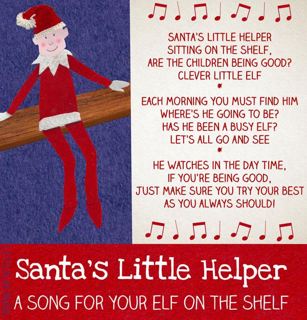 Santas Little Helper Kids Songs For Christmas