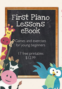 The First Piano Lessons eBook Launch - Let's Play Music