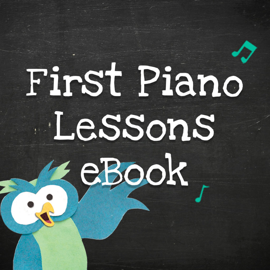 First Piano Lessons Ebook