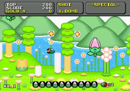 Image result for Super Fantasy Zone