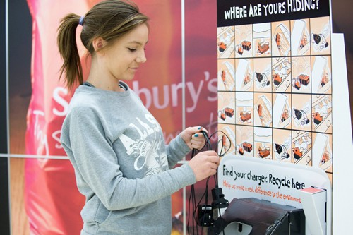 Sainsburys Launches Phone Charger Recycling Drive
