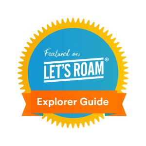 Let's Roam Featured on Badge