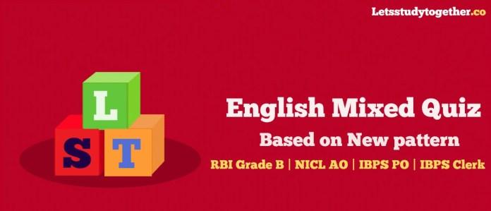 English Mixed Quiz