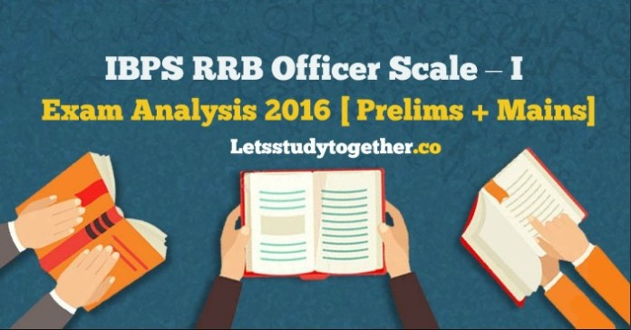 IBPS RRB Officer Scale – I Exam Analysis 2016