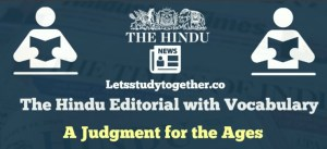 Daily Hindu Editorial with Vocabulary