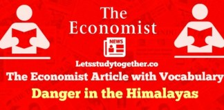 The Economist Editorial Vocabulary Words