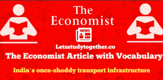 The Economist Editorial Words
