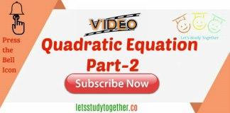Quadratic Equation Tricks