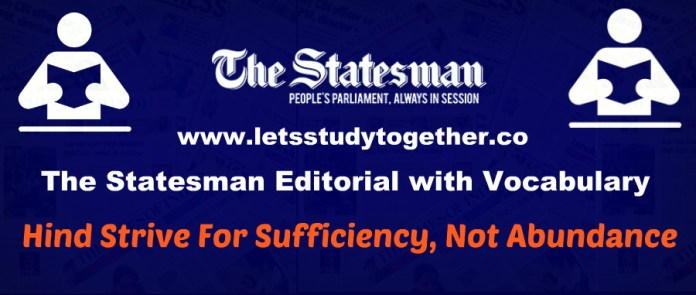 Magical Vocabulary from The Statesman Editorial