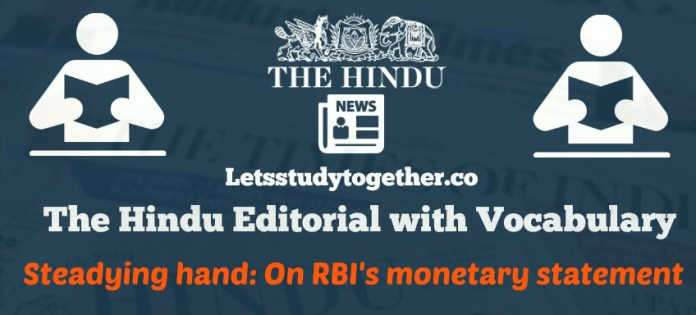 Editorial Vocabulary from The Hindu Newspaper