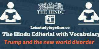 Daily The Hindu Editorial with Vocabulary 27th October 2017