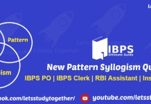 New Pattern Syllogism