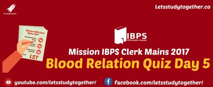 Blood Relation Quiz
