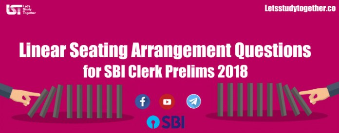 Advanced Level Linear Arrangement Questions for SBI PO Mains