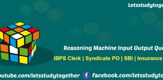 Reasoning Machine Input Output Question