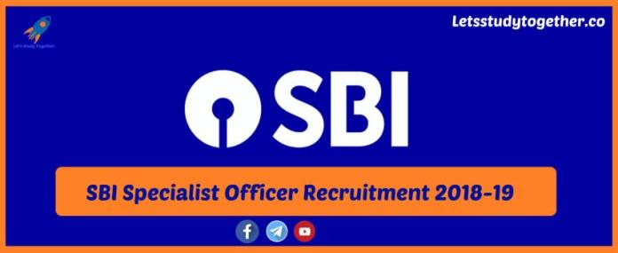 SBI Specialist Officer Recruitment
