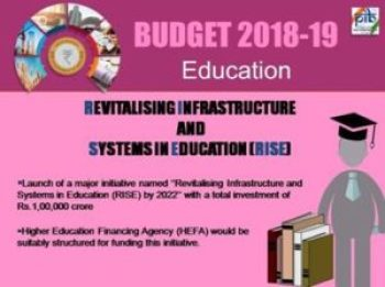 Revitalising Infrastructure and Systems in Education (RISE) Scheme