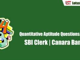 Quantitative Aptitude Questions & Answers