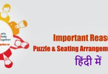 Reasoning Puzzle Questions In Hindi