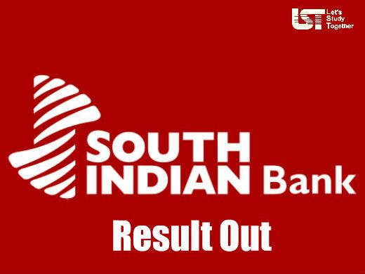 South Indian Bank Probationary Clerk Result