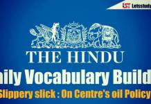 Daily Vocabulary Builder PDF - 19th April 2018