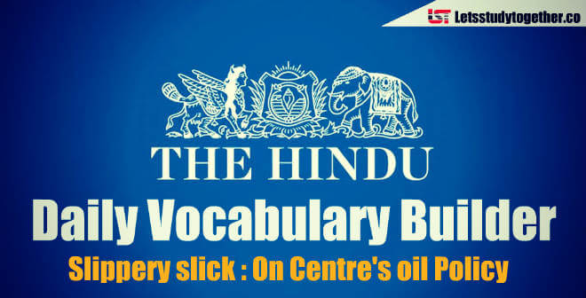 Daily Vocabulary Builder PDF - 19th April 2018