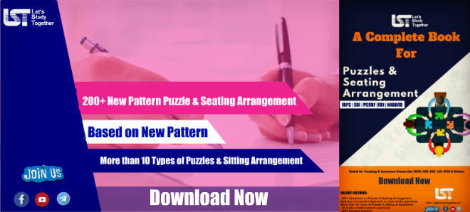 200+ New Pattern Puzzle & Seating Arrangement Questions | Download PDF