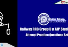 Railway RRB Group D & ALP Study Material – Attempt Practice Questions Set | Day-8