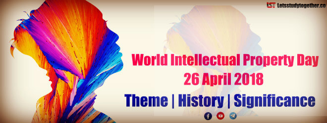 World Intellectual Property Day 26 April 2018 | Theme, History and Significance
