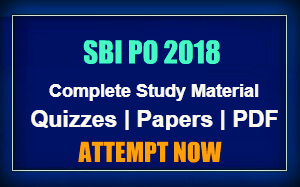 SBI PO 2018 Preparation