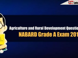 Agriculture and Rural Development (ARD) Questions Asked in NABARD Grade A Exam 2018